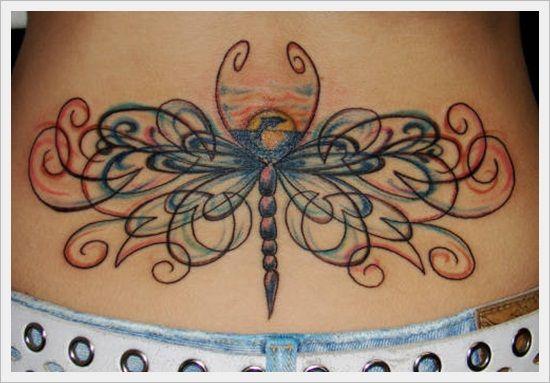 Lower back tattoos tattoo ideas for Lower back tribal tattoos