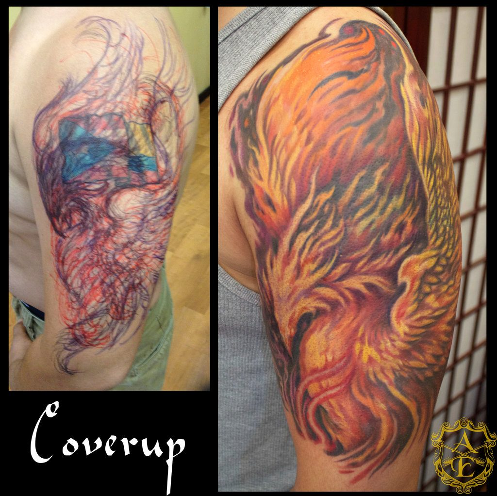 Cover up tattoos tattoo ideas for Places to hide tattoos