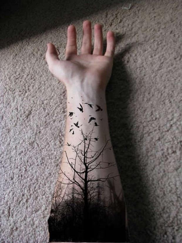 Men tattoos